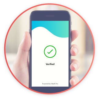 Verification proof and details are sent to the client via API and can also be accessed in the back-office