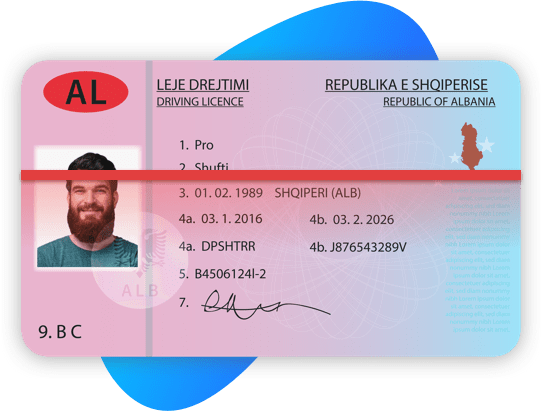 Albania Driving License