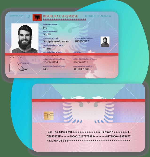 Albania National Identity Card