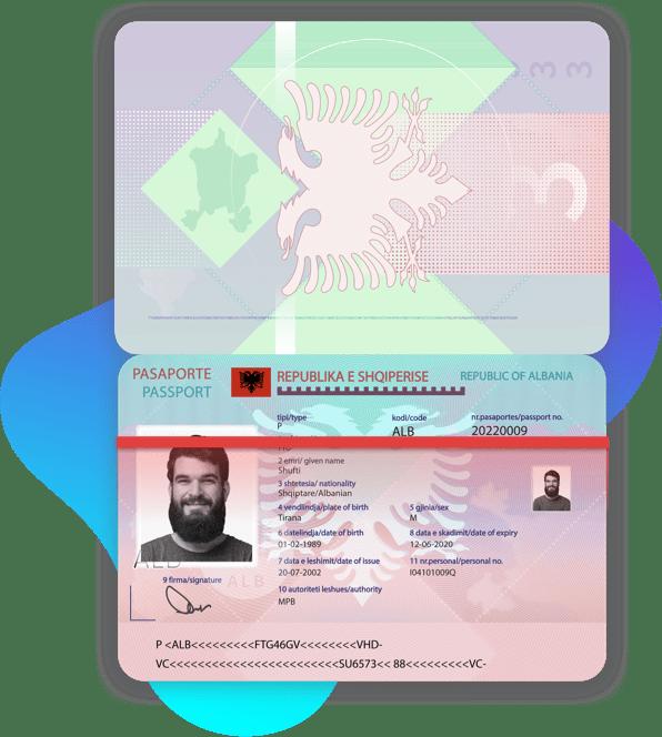 Albania Passport