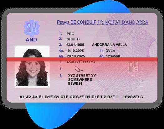 Andorra Driving license