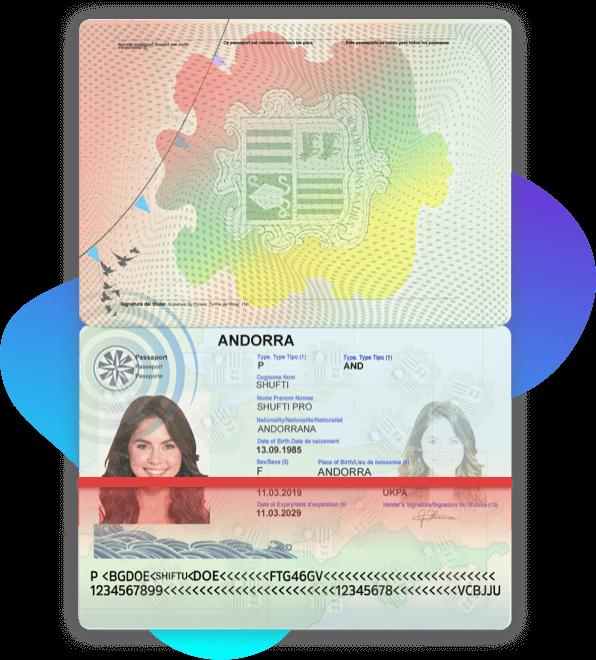 Andorra Passport