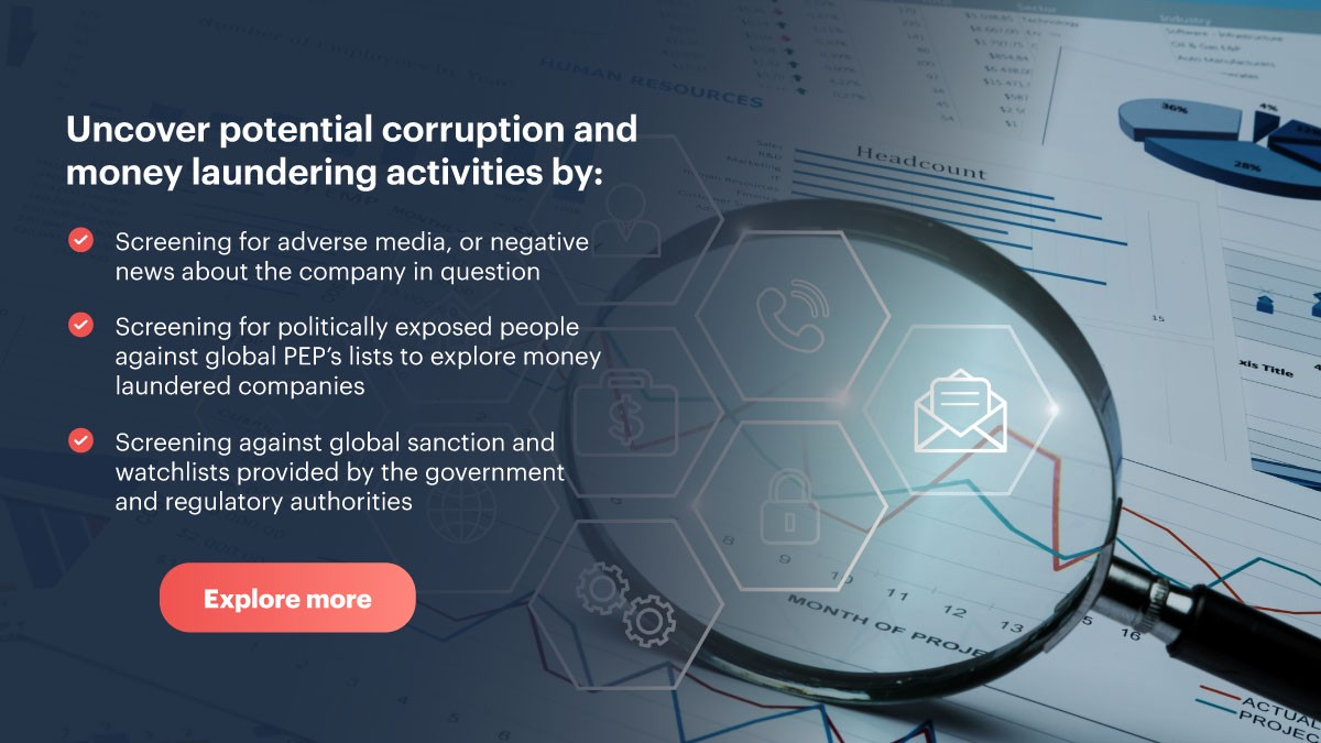 ShuftiPro uncover potential corruption and money laundering activities