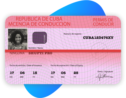 Cuba Driving License