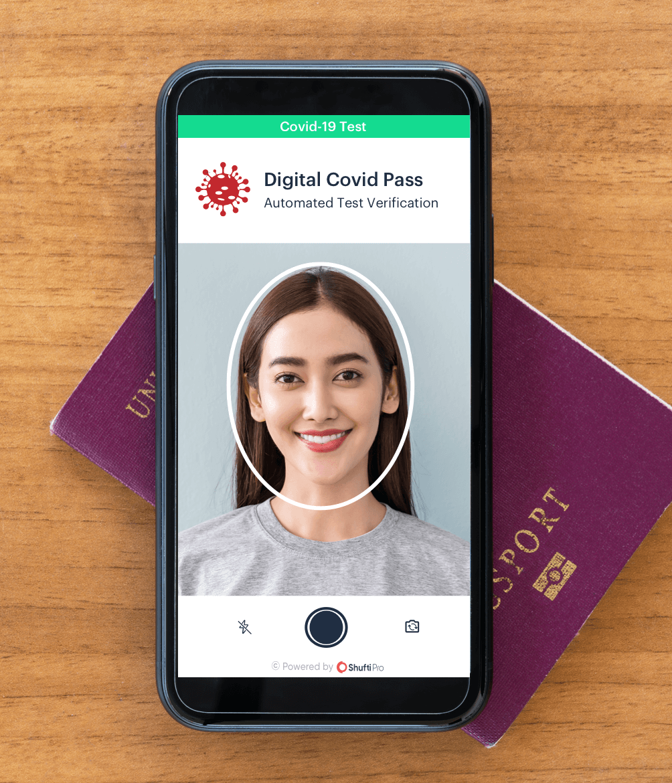 Digital covid pass