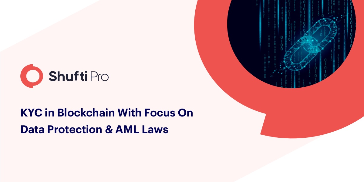 KYC in blockchain with a focus on data protection and AML laws