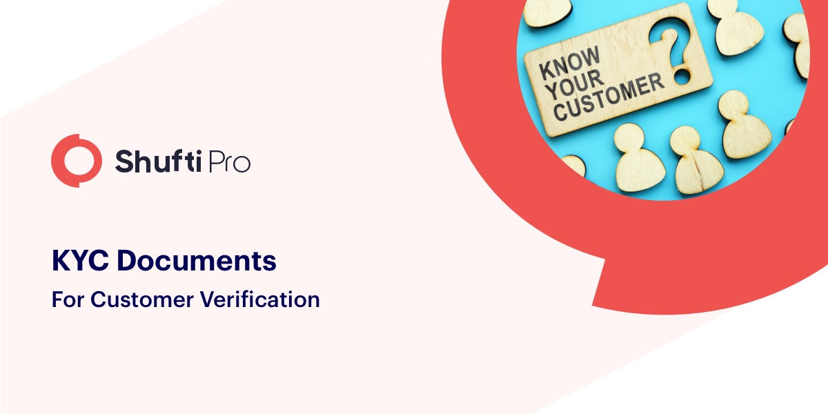 Kyc documents for customer verification