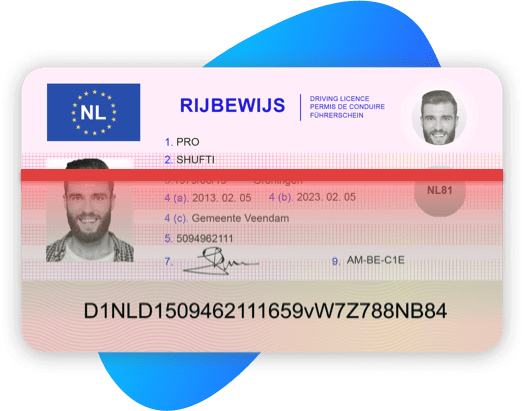 Netherland Driving License