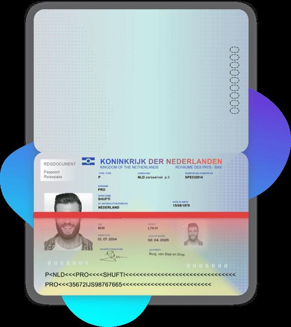 Netherland Passport