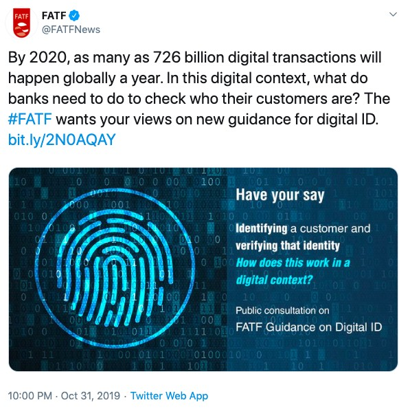 FATF Guidance on digital ID