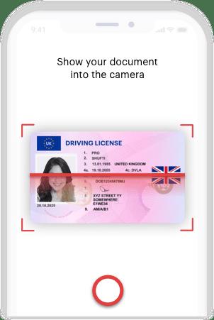 UK Document Verification Mobile