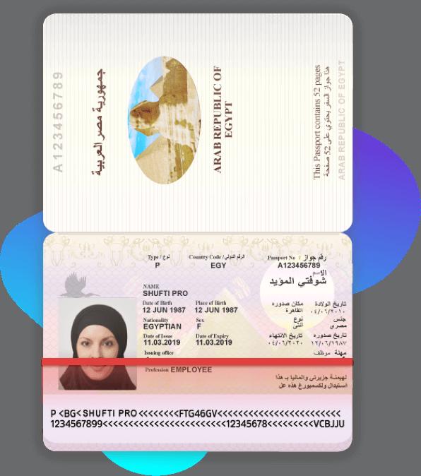 egypt passport