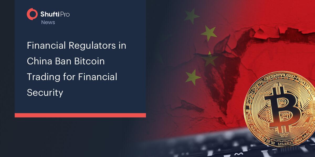 bitcoin trading ban în china